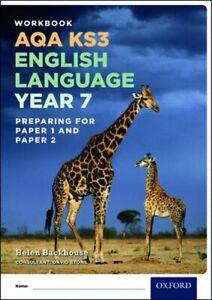 AQA KS3 English Language Year 7 Workbook by Helen Backhouse (Paperback, 2016)