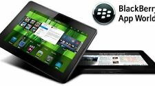 Tablet Blackberry Playbook 16GB, Wi-Fi (Desbloqueado), 7in-Negro