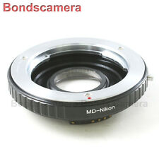AF confirm Minolta MD Mount Lens to Nikon F mount Camera Adapter D90 D600 D800