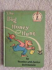 Vintage 1962 Dr Seuss Beginner The Big Honey Hunt by Stanley & Janice Berenstain