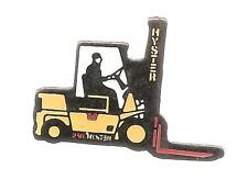 Pin's pin chariot ELEVATEUR HYSTER avec chauffeur ( ref CL20)