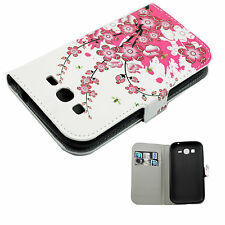 Wallet Case Card Holder PU Leather Cover For Samsung Galaxy Grand Duos i9082