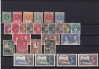 nigeria  mounted mint and used stamps ref r15121