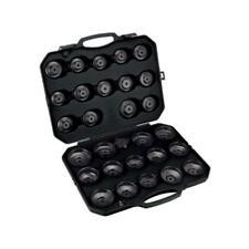 Bahco Ölfilterschlüssel Satz Ölfilterkappen Öffner Set im Koffer, 30 teilig