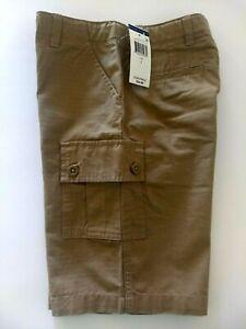 Ralph Lauren Boys 7 Tan Cargo Shorts Adjustable Waist