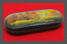 New hard case for glasses. Spectacles.Hand-painted.Russian souvenir. # 33