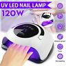 LED Nail Lamp SUN 120W UV Light Nail Dryer Gel Curing Machine Timer Professional