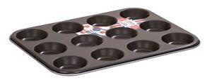UK MADE 6/12 LARGE MUFFIN YORKSHIRE PUDDING MOULD CUPCAKE BAKING TRAY BAKEWARE