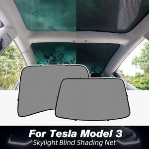 Sunshade Car Sun Visor Rear Front For Tesla Model 3 Accessories Roof Skylight