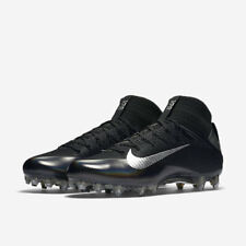 NEW! $200 Nike Vapor Untouchable 2 Football Cleats Black & Metallic Silver 12