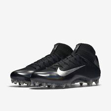 NEW! $200 Nike Vapor Untouchable 2 Football Cleats Black & Metallic Silver 11