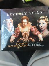 BEVERLY SILLS Donizetti Three Queens Opera CD Box Set Anna Bolena Maria Stuarda