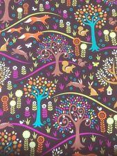 Fat Quarter Michael Miller Foxtrot Jewel 100% Cotton Craft Fabric