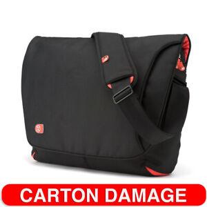 "Booq TSDXL-BLR Taipan Shadow 17"" Messenger Case/Shoulder Laptop Carry Bag BLK/OR"