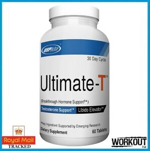 USPLabs Ultimate-T Testosterone Booster Muscle Growth 120 Caps DATED 12/2021