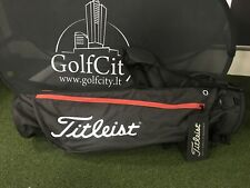 New Golf CARRY BAG Titleist Black and Red color