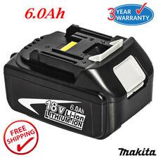 New 6.0Ah 18V Li-Ion Battery For Makita BL1860 BL1840 BL1830 BL1815 LXT 18 Volt
