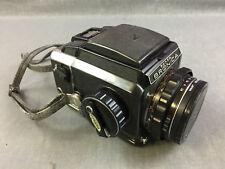 Zenza Bronica S2A model Black 6x6 Camera w/75mm f/2.8 from Japan TCS1666