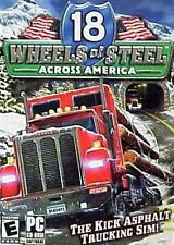18 Wheels Of Steel Across America PC New Rare