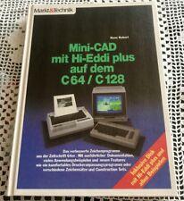 Mini - CAD mit Hi-Eddi plus auf dem C64 / C128 , Ein Markt & Technik mit Disk