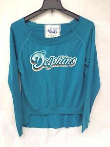 Miami Dolphins Womens Touch By Milano M Draft Choice Sweatshirt 727