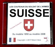 SWISS ARMY KNIFE - COUTEAUX DU SOLDAT DE L'ARMEE SUISSE - LIVRE SUR CD - FRENCH
