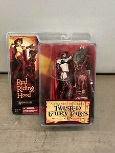 New 2005 McFarlane Toys TWISTED FAIRY TALES Red Riding Hood Sealed