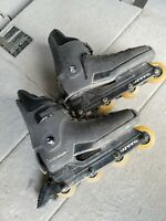 Vintage Rollerblade Lightning 1990 Inline Skates Black Men's Size 13.5