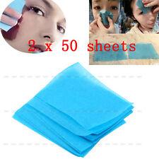 100× Naturel Papier Tissue Huile Absorbant Oil Maquillage Nettoyage Soin Visage