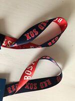 (2) BOSTON RED SOX Key-Strap KEY Chain NWT FREE SHIPPING MLB