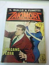 FUMETTO ZAKIMORT N° 29 -URAGANO FEDRA- 29 DIC 1967  L-1