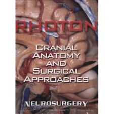"""Rhoton's Cranial Anatomy and Surgical Approaches   SHIPS FOR FREE """"OVER NIGHT"""""""