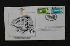 SINGAPORE 1978 Three FDC's History of aviation stamp collection