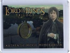 LOTR Lord Of The Rings Trilogy chrome Frodo's Elven Tunic costume card #6