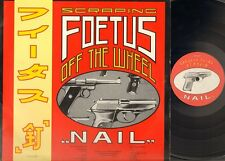 Scraping FOETUS Off The Wheel NAIL 1985 LP James George Thirlwell