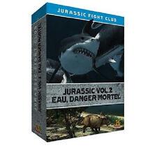 5008// JURASSIC FIGHT CLUB VOLUME 2 EAU DANGER MORTEL COFFRET 4 DVD NEUF
