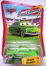 EDWIN KRANKS disney pixar cars NEW race-o-rama #72 die cast woc world of cars