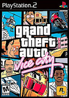 Grand Theft Auto: Vice City (Sony PlayStation 2, 2002) MATURE FAST SHIPPING PS2