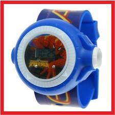 Reloj SPIDERMAN proyector. Proyecta una imagen de SPIDERMAN en la pared.A552
