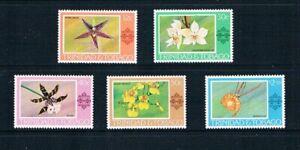 Trinidad & Tobago - 1978 Orchidées - Sc 284-288 [ Sg N / Un ] - MNH S9