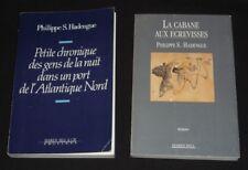 Lot de 2 ouvrages DE Philippe S. Hadengue : La Cabane aux écrevisses - Petite