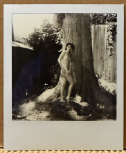 NOT 1 BUT 2 SIGNED ORIGINAL 2021 RUSSELL LEVIN POLAROIDS OF VIVIAN COVE