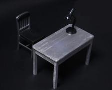 1/6 Scale Model Furniture Fittings Table + Chair+Desk Lamp For HOT TOYS Joker