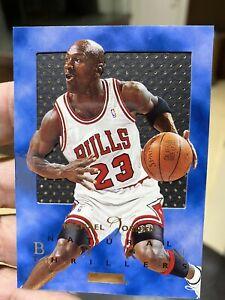 1995-96 SkyBox Premium Natural Born Thrillers Michael Jordan Card #1 Near Mt-MT
