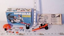 MPC SUPER DRAG ZINGER DRAGSTER MODEL KIT BUILT UP WITH BOX