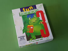 Fun School 3 pour 5 To 7 Year Olds Commodore 64 (C64) jeu (SCB) * avec pin badge *