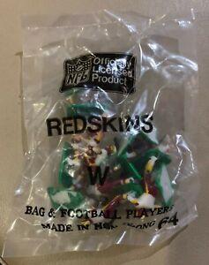 Washington Redskins WHITE Tudor Electric Football Team Mint Sealed Bag LAST ONE