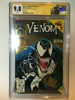 Venom Lethal Protector #1 Gold Variant CGC 9.8 SS Bagley Sign & Sketch RARE 1993