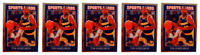 (5) 1992 Sports Cards #21 Tim Hardaway Basketball Card Lot Golden State Warriors