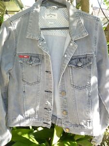 Lee Cooper womens grey faded jacket size 12